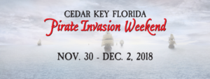 6th Annual Cedar Key Pirate Invasion Weekend @ Cedar Key City Park | Cedar Key | Florida | United States