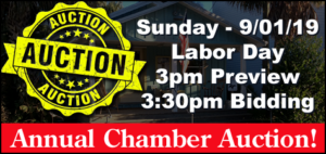 Chamber of Commerce Labor Day Auction @ Cedar Key Community Center | Cedar Key | Florida | United States