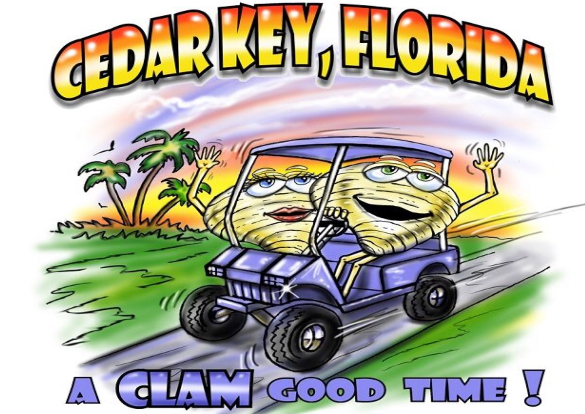 Clam Good Time Logo