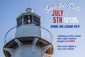 Shine On Cedar Key!