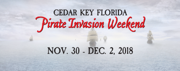 6th Annual Cedar Key Pirate Invasion Weekend