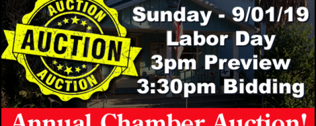 Chamber of Commerce Labor Day Auction