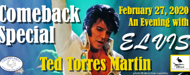 Cedar Key Dolphin Benefit Evening – Elvis Tribute