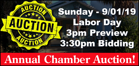 Cedar Key Labor Day Auction to Benefit the Chamber