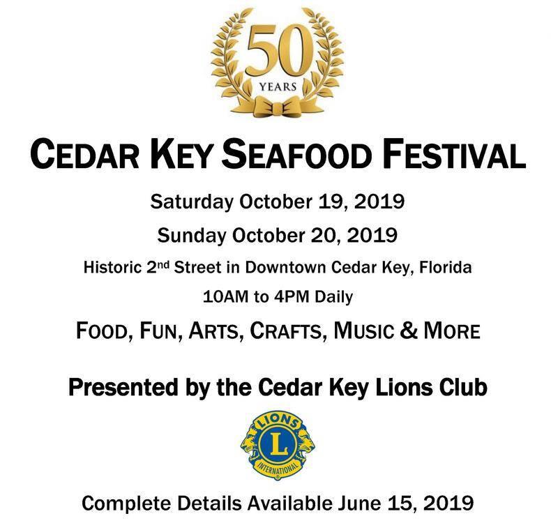 2019 Seafood Festival Info.