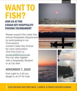 November 7, 2020 Cedar Key Fishing Tournament
